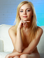 MetArt top model with perfectly slender body and gorgeous features.